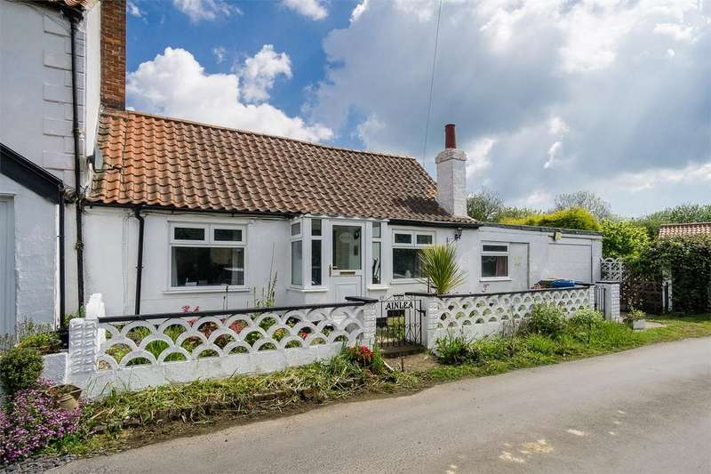 2 Bedrooms Semi Detached Bungalow for sale in Taylor Lane, Holmpton, East Riding of Yorkshire