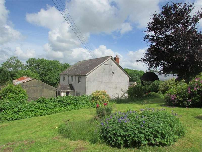 4 Bedrooms Detached House for sale in Penback Farm, Llanboidy, Whitland, Carmarthenshire