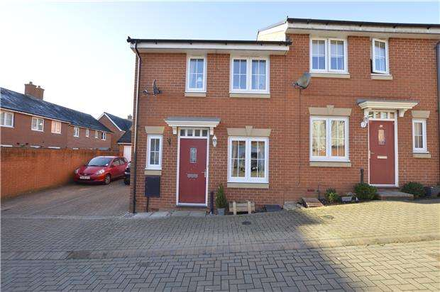 3 Bedrooms Semi Detached House for sale in Jack Russell Close, Stroud, Gloucestershire, GL5 4EH