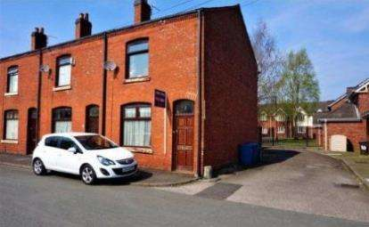 2 Bedrooms End Of Terrace House for sale in Scott Street, Leigh, Greater Manchester