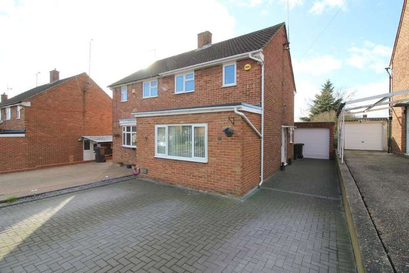 2 Bedrooms Semi Detached House for sale in Wellfield Avenue, Luton, Bedfordshire, LU3 3AT