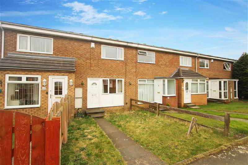 2 Bedrooms Terraced House for sale in Woburn Close, Wallsend