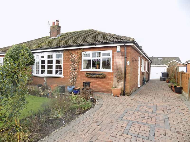 2 Bedrooms Semi Detached Bungalow for sale in Upton Close, Lowton, Warrington, WA3