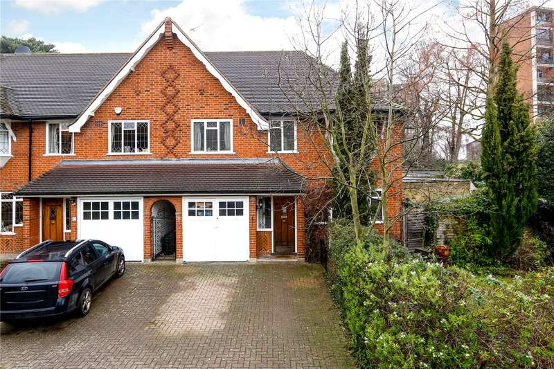 4 Bedrooms Semi Detached House for sale in Fleur Gates, Princes Way, London, SW19