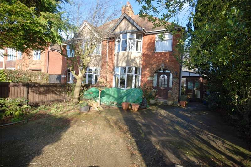 4 Bedrooms Semi Detached House for sale in Hillmorton Road, RUGBY, Warwickshire