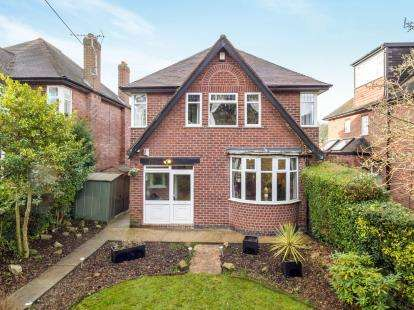 3 Bedrooms Detached House for sale in Ilkeston Road, Bramcote, Nottingham, Nottinghamshire
