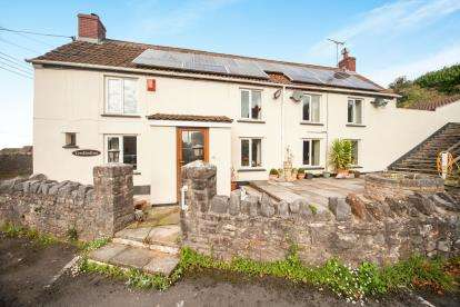 5 Bedrooms Detached House for sale in Draycott, Cheddar, Somerset