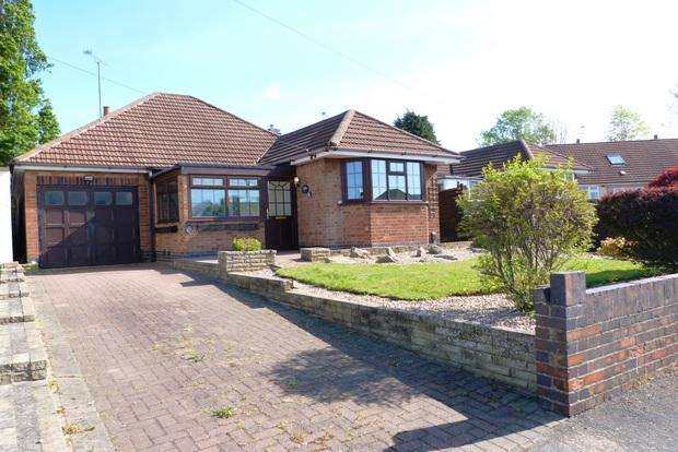 3 Bedrooms Detached Bungalow for sale in Campbell Avenue, Thurmaston, Leicester, LE4
