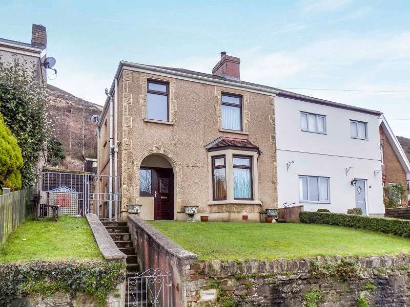 3 Bedrooms Semi Detached House for sale in Lletty Harri , Penycae, Port Talbot, Neath Port Talbot. SA13 2ES
