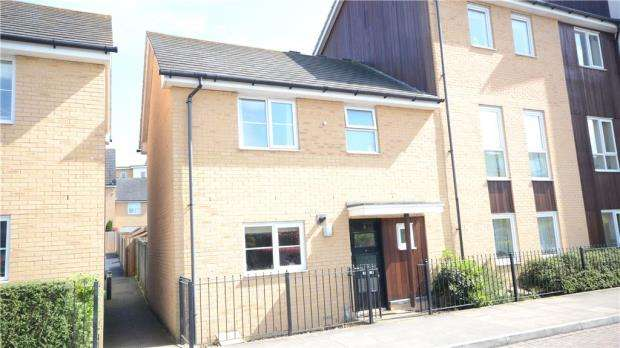2 Bedrooms Terraced House for sale in Drake Way, Reading, Berkshire