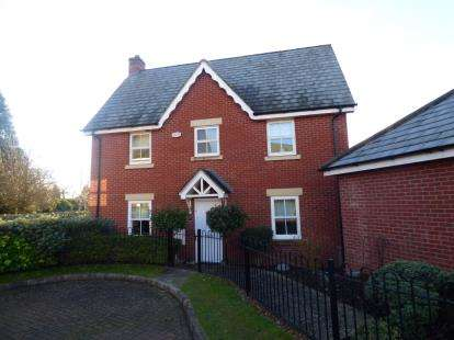 3 Bedrooms Detached House for sale in Alfred Knight Close, Duston, Northampton, Northamptonshire