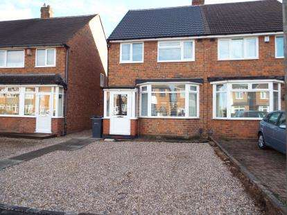 3 Bedrooms Semi Detached House for sale in Chaffcombe Road, Sheldon, Birmingham, West Midlands