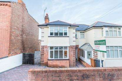 3 Bedrooms Semi Detached House for sale in Belmont Street, East Worcester, Worcester, Worcestershire