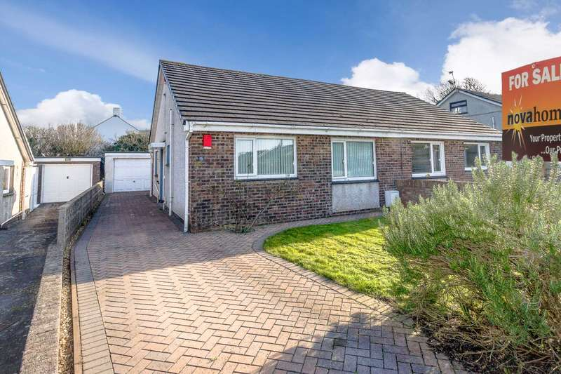 2 Bedrooms Semi Detached Bungalow for sale in Leyford Close, Wembury, Nr Plymstock PL9