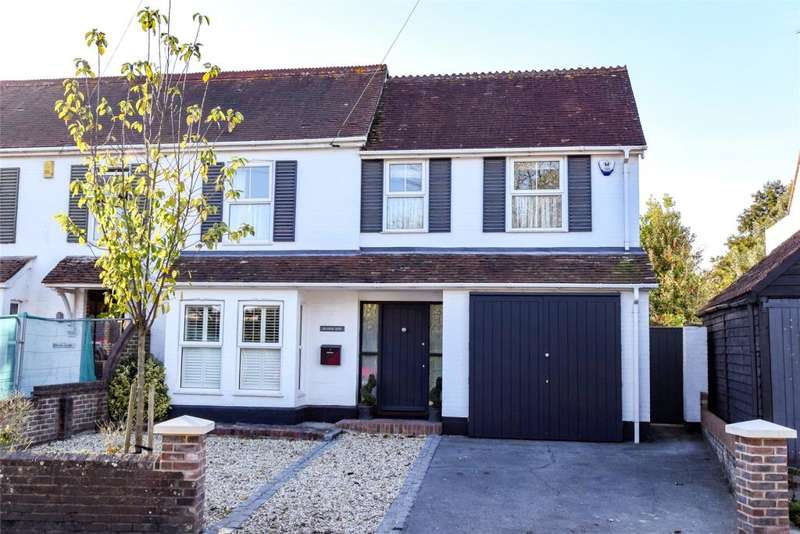 4 Bedrooms Semi Detached House for sale in Bosham Lane, Bosham, Chichester, West Sussex, PO18