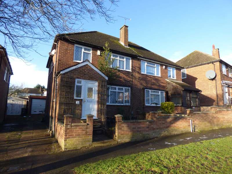 3 Bedrooms Semi Detached House for sale in Cheviot Road, Luton