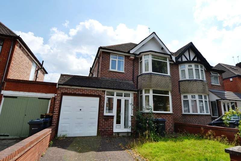3 Bedrooms Semi Detached House for rent in Bibsworth Avenue, Billesley, Birmingham, B13