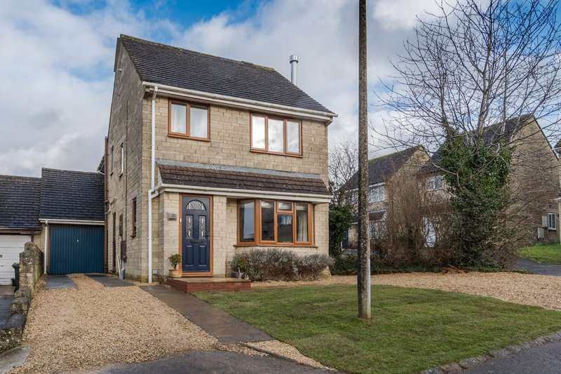 4 Bedrooms Detached House for sale in Longtree Close, Tetbury