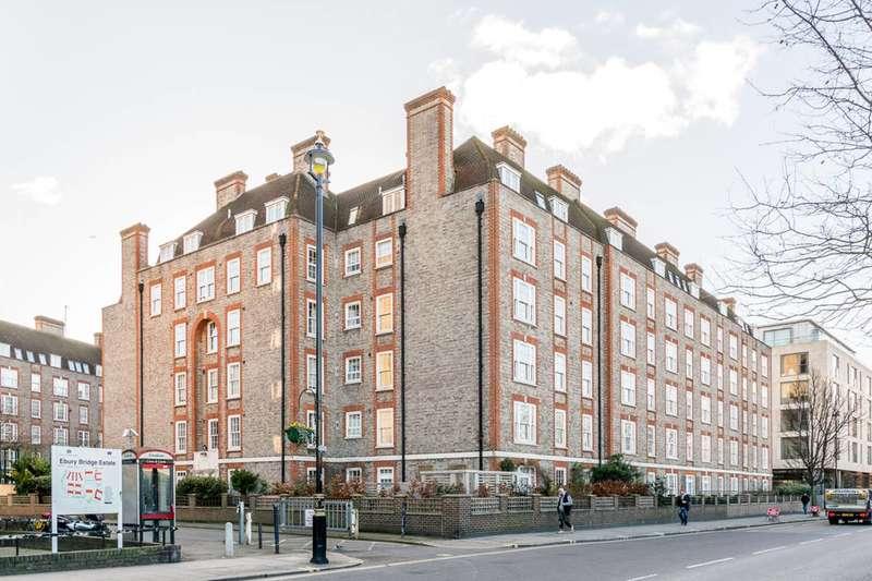 1 Bedroom Flat for sale in Ebury Bridge Road, Pimlico, SW1W