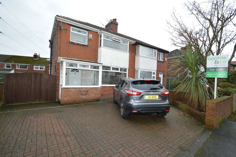 3 Bedrooms Semi Detached House for sale in Kenilworth Avenue, Whitefield, Manchester, M45
