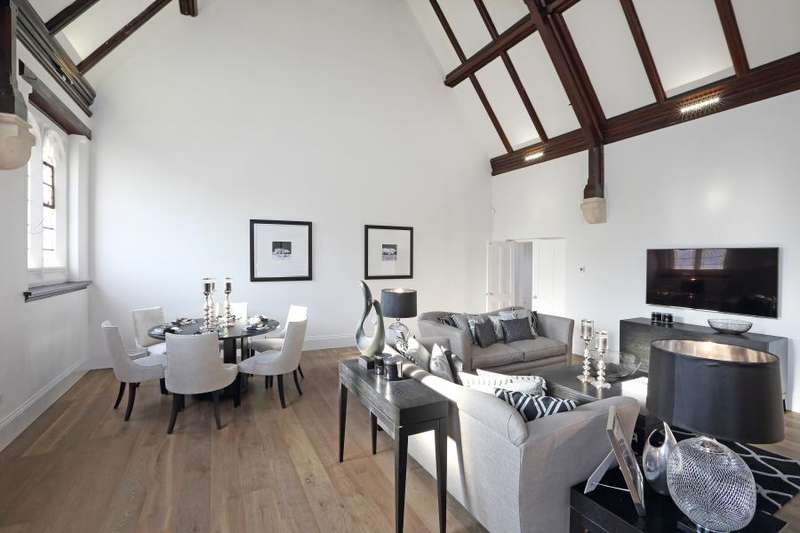 3 Bedrooms Apartment Flat for sale in The Chapel, Richmond Road, Old Isleworth
