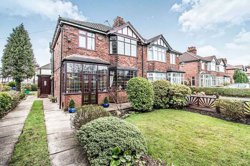 3 Bedrooms Semi Detached House for sale in Altrincham Road, Brooklands, M23