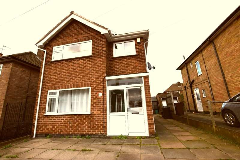 3 Bedrooms Detached House for sale in Briargate Drive, Birstall, Leicester, LE4