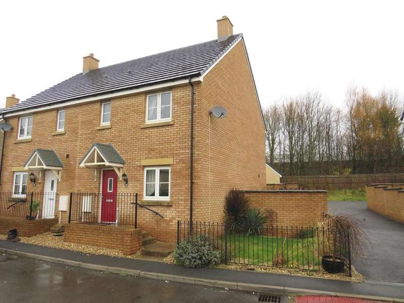 3 Bedrooms Semi Detached House for sale in Maes Y Cadno, Coity, Bridgend