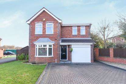 4 Bedrooms Detached House for sale in Bearcroft Avenue, Great Meadow, Worcester, Worcestershire