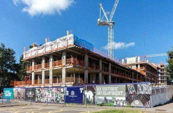 2 Bedrooms Flat for sale in St Bernard's Gate, Uxbridge Road, London, UB1