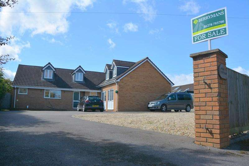 5 Bedrooms Detached House for sale in Hurn Lane, Berrow, Burnham-On-Sea