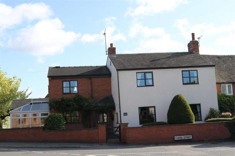3 Bedrooms Cottage House for sale in Chapel Street, Coton-In-The-Elms, Swadlincote