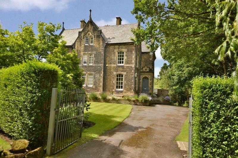 6 Bedrooms Semi Detached House for sale in Denehurst, Thornhill Drive, Apperley Bridge, Bradford, West Yorkshire