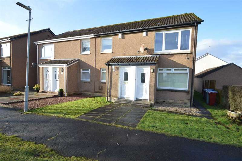 2 Bedrooms Apartment Flat for sale in Moffat Court, Blackwood - upper flat with own lock up garage and garden