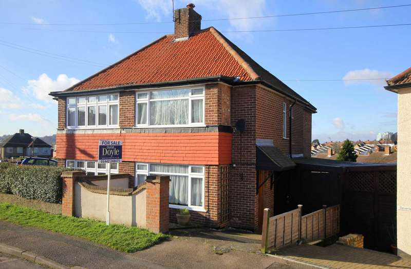 3 Bedrooms Semi Detached House for sale in EXTENDED SEMI DETACHED OVER 1050 SQ FT in NASH MILLS, HP3