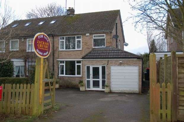 3 Bedrooms Semi Detached House for sale in Sywell Road, Overstone, Northampton NN6 0AQ