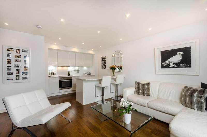 1 Bedroom Flat for sale in Enterprise Way, Wandsworth, SW18
