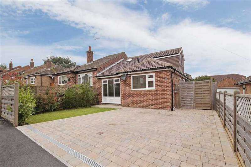 3 Bedrooms Semi Detached Bungalow for sale in Bachelor Road, Harrogate, North Yorkshire
