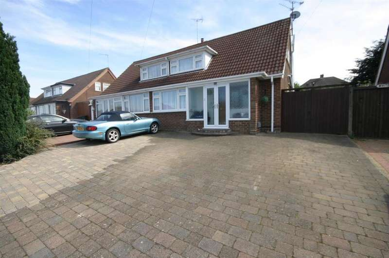 3 Bedrooms Semi Detached House for sale in Wadhurst Avenue, Luton
