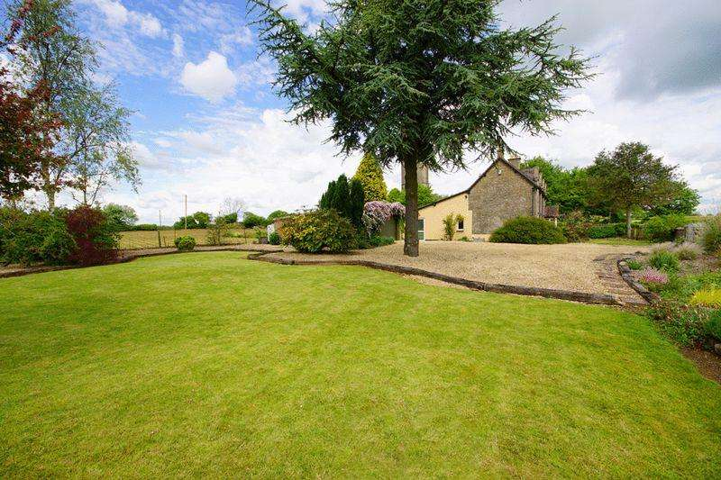 2 Bedrooms Semi Detached House for sale in Goose Green, Ozleworth, Wotton-Under-Edge, GL12 7PY