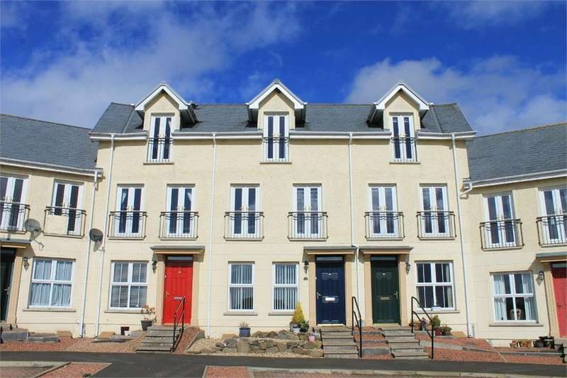 4 Bedrooms Terraced House for sale in 13 Swan Avenue, Chirnside, Berwickshire, Scottish Borders