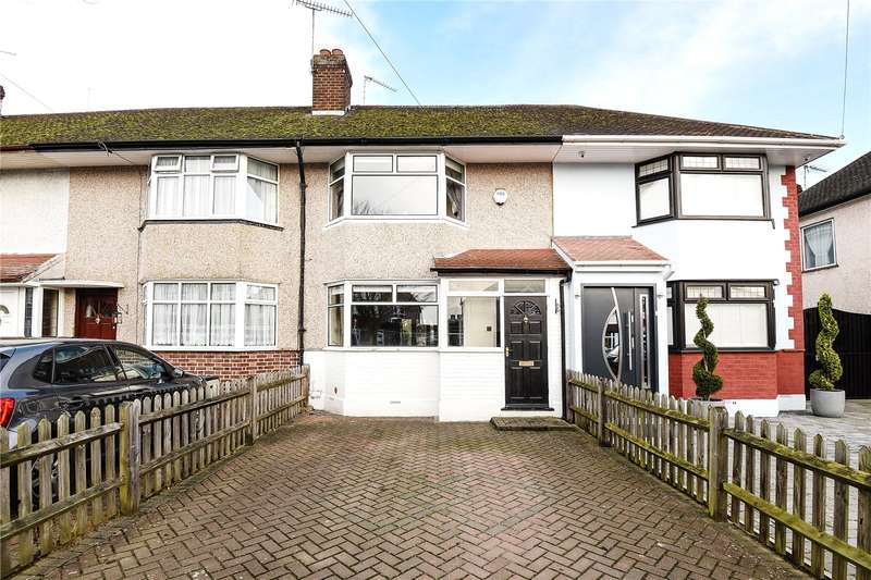 2 Bedrooms Terraced House for sale in Royal Crescent, South Ruislip, Middlesex, HA4