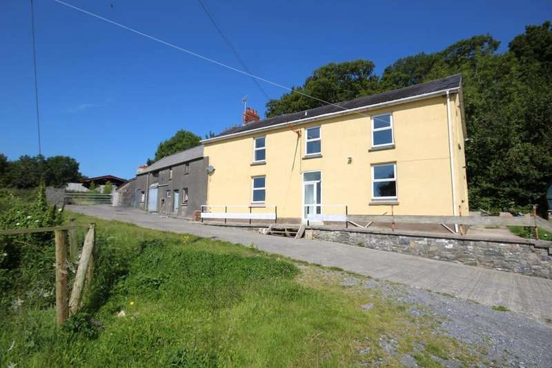 4 Bedrooms Farm Commercial for sale in Backe Road, St. Clears, Carmarthen