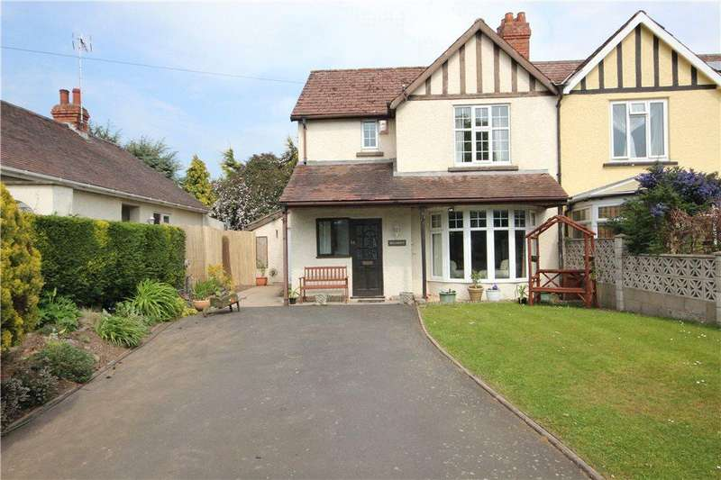 3 Bedrooms Semi Detached House for sale in Bromfield Road, Ludlow, Shropshire, SY8