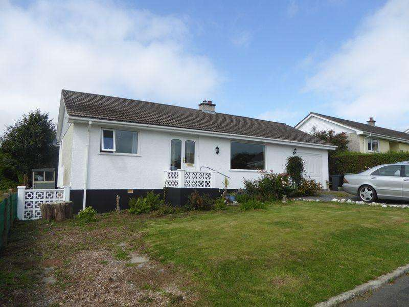 3 Bedrooms Detached Bungalow for sale in Ellan Thie, Christeens Way, Ballakillowey, Colby