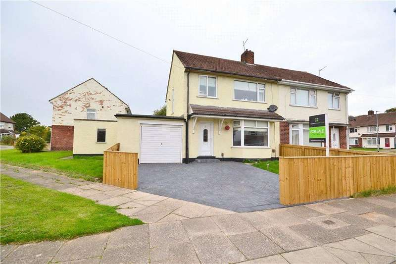 3 Bedrooms Semi Detached House for sale in Rudyard Avenue, Roseworth, Stockton-On-Tees