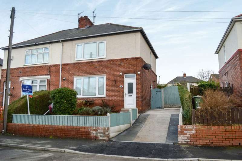 3 Bedrooms Semi Detached House for sale in Princess Avenue, South Elmsall, Pontefract, WF9
