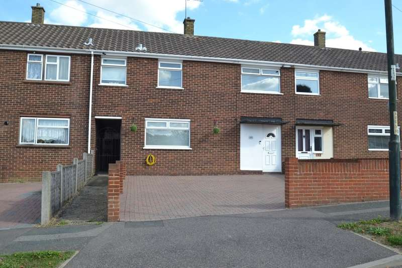 3 Bedrooms Terraced House for sale in King George Road, Walderslade, Chatham, ME5