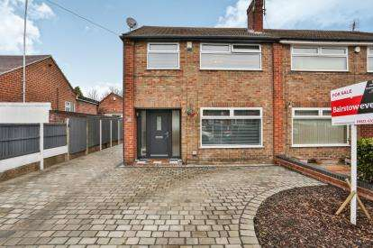 3 Bedrooms Semi Detached House for sale in Beresford Road, Mansfield Woodhouse, Mansfield, Nottingham
