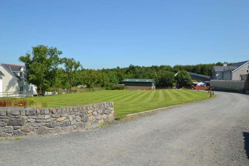 Land Commercial for sale in Pentre Berw, Gaerwen, North Wales